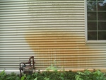 Z-ro Rust - Rust Removal Stained Siding